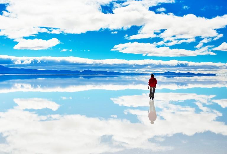 空しかない世界が広がる?世界の絶景ウユニ塩湖写真集