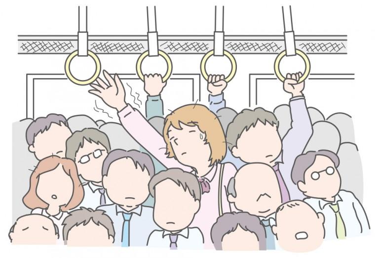 満員電車と環境問題、満員電車が与える影響