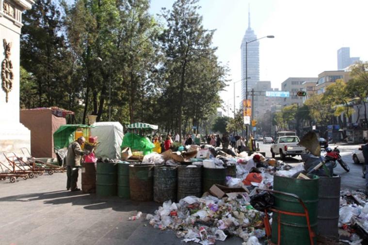 メキシコシティ:世界で二番目に多くゴミを出す街