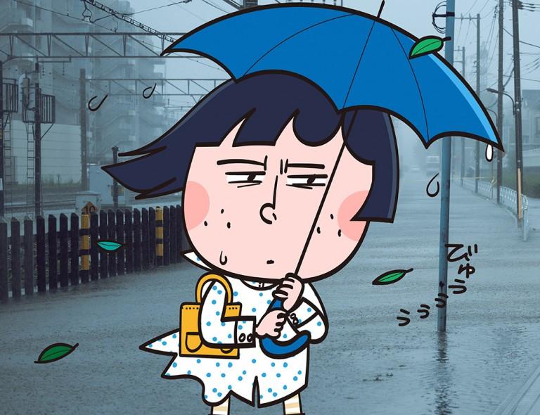 超分かりやすい【ゲリラ豪雨の仕組み(イラスト)】
